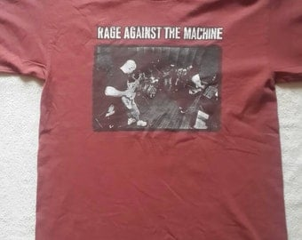 90's Rage Against The Machine T Shirt