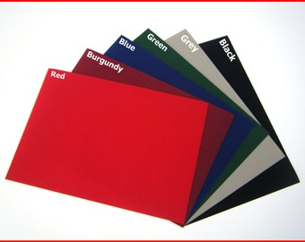 6 x Sticky Back Self Adhesive A4 Sheet Felt Velvet DC FIX Vinyl Special price DISCOUNTED