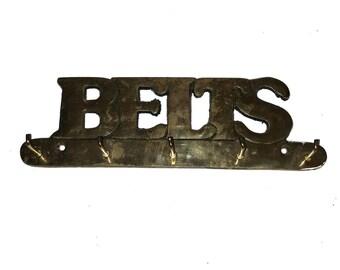 Vintage Brass Belt Hooks