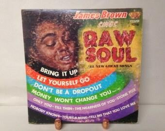 James Brown Raw Soul Vintage Vinyl LP Record Album Funk Motown Music