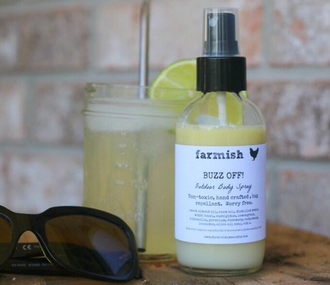 reserved for judy buzz off outdoor body spray by farmishmomma
