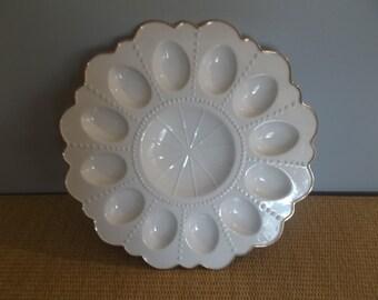 Vintage Mikasa® Deviled Egg Platter