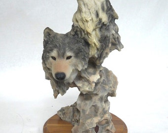 Mill Creek Studios Spirit Moon Howling Wolves Statue 2472/4000