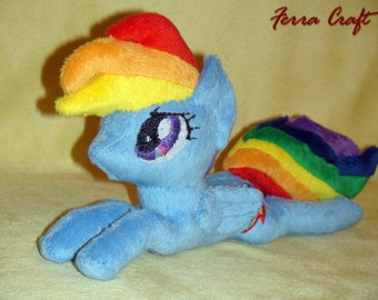 Rainbow Dash My Litlle Pony plush toy