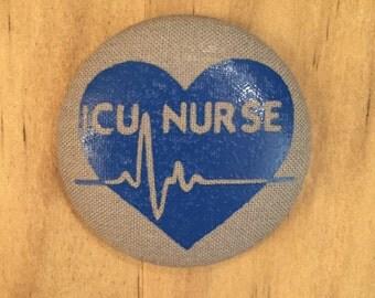ICU Nurse - Critical Care  - Button Add on