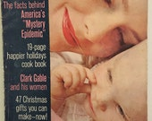 Vintage Magazine, Good Housekeeping, artisanat de Noël Vintage, November1961