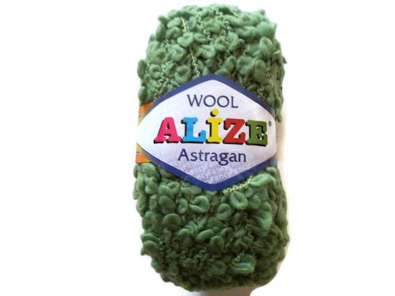 Astrakhan Bulky yarn Fancy yarn wool skein wool yarn