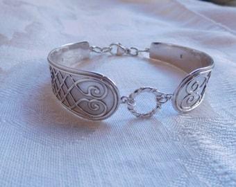 Sterling Silver Spoon Bracelet
