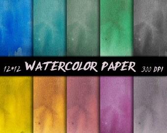 Watercolor scrapbooking paper Tie dye Digital Papers Summer watercolor Summer watercolor Digital Papers Shabby Digital Textures