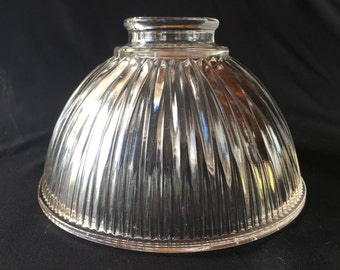 Vintage Retro Hollophane Prismatic Light Shade