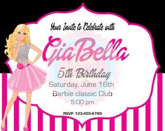 Barbie Birthday Girl