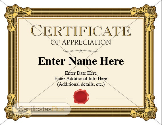 Certificate of appreciation award business certificate certificate of appreciation award business certificate recognition teacher school certificate boss teacher gift work best seller yadclub Images