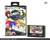 Sonic The Hedgehog 3 Complete Reproduction (Sega Genesis) Repro