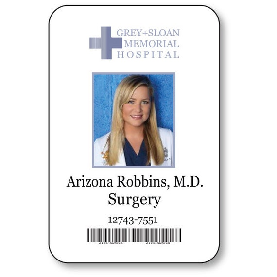 Arizona Robbins Doctor On Greys Anatomy T V Show Magnetic