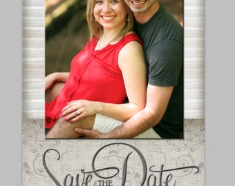 4x8 Save the Date Card
