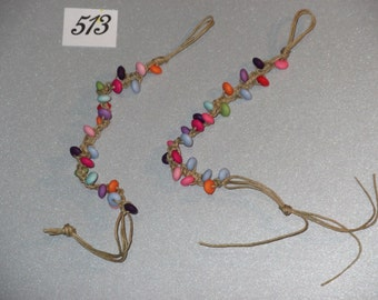 Kids bright friendship bracelets (pack of 2)