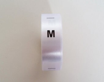 Medium size labels. Clothing tags