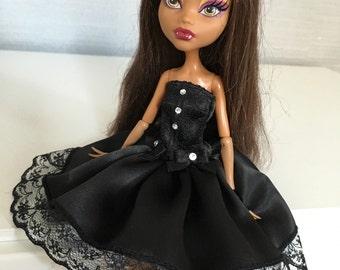 Amazing black lolita dress for Monster High doll