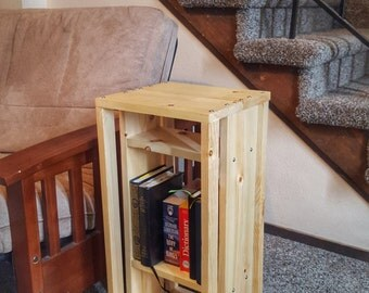 Solid Pine Nightstand / End-table