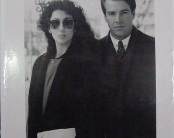 Cher - Suspect - 1987 -  B & W Publicity photo