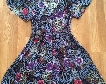 Vintage skort dress size medium
