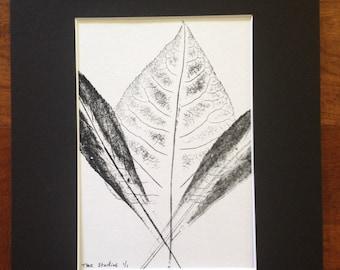 Leaves of Spring Monoprint #4
