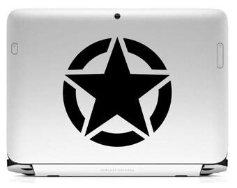 "Bumper sticker ""U.S. Army Star"""