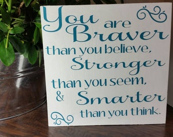 Custom wood sign - inspirational quote - motivational quote - rustic wood sign - rustic sign - home decor - hand painted - best selling sign