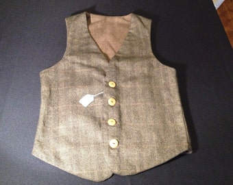 Men's Wool Waistcoat