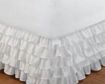 Popular Items For Ruffled Bed Skirt On Etsy