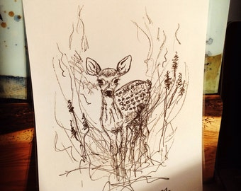 Fawn in Ink, Naturally