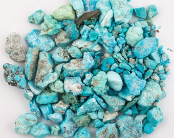 Natural Old stock Kingman Turquoise Rough