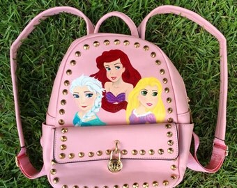 Disney Backpack: Character Painted Backpack