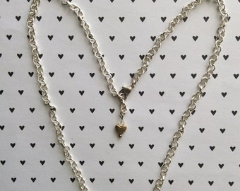 Midnight, ceramic jewelry, ceramic necklace, beaded necklace, pendant, silver necklace, minimalist jewelry, minimalist necklace, minimalist