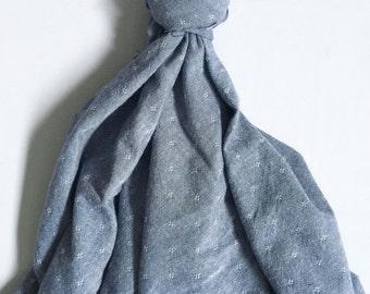Blue Denim Baby Blanket