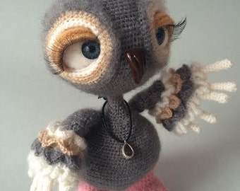 Amigurumi crohet owl toy