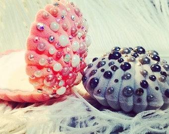 Siren - shellfish velvet jewelry box