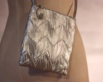 Silver Leaf purse