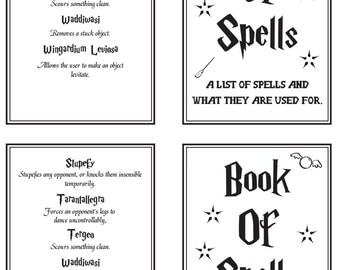 Standard book spells | Etsy