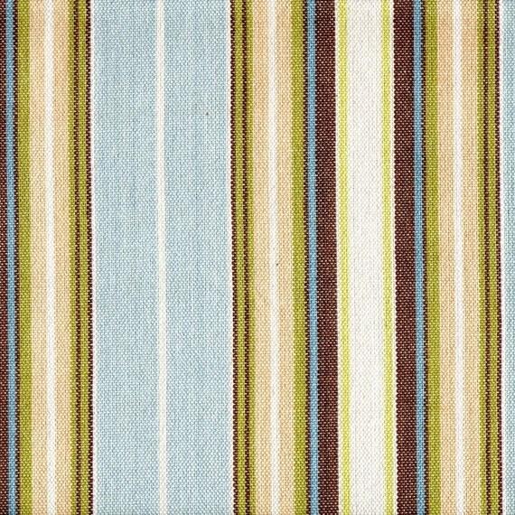 Duvet Cover Belmont Seaglass Stripe Reversible