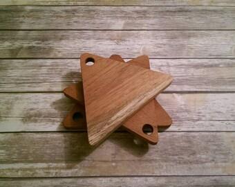 Handmade Cutting Board, Mahogany Cutting Board, Wood Cutting Board, Serving Board, Small Cutting Board, Trio of Cutting Boards