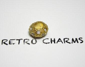 Gold Jeweled Retro Charm