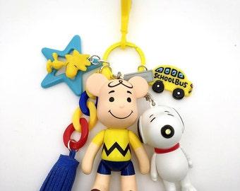 Popobe Charlie Brown Bag Charm