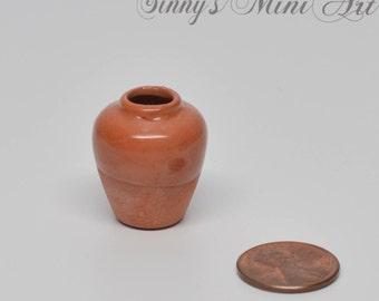 1:12 Dollhouse Miniature Ceramic Vase/Ceramic Pot for Miniature Gardening