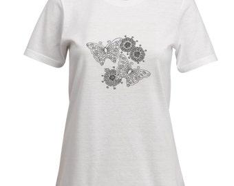 Coloring Book Ladies t-Shirt