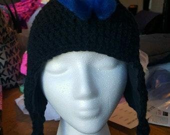 Crochet Mohawk Earflap Hat - Made to order