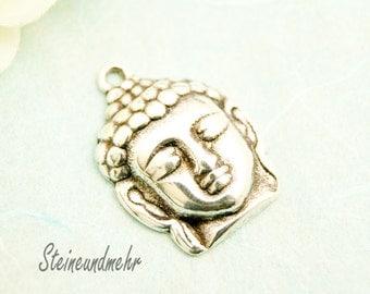 1 x silver plated pendant Buddha Schmuck art. 3082