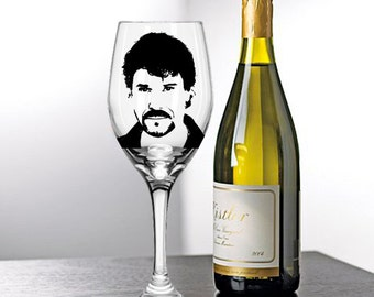 Peter Reckell, Bo Brady, Days of Our Lives, Painted Wine Glasses, Painted Wine Glass, Painted Glasses, White Wine, Red Wine, Stemless Glass