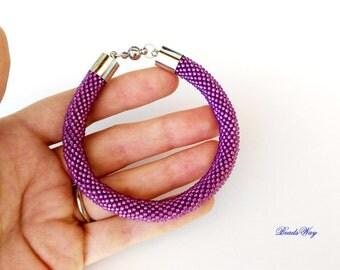 """Bracelet of beads """"Felix""""/bracciale из бисера Браслет beaded """"Felix""""/""""Феликс"""
