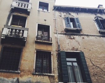 Venice Windows 8x8 Print